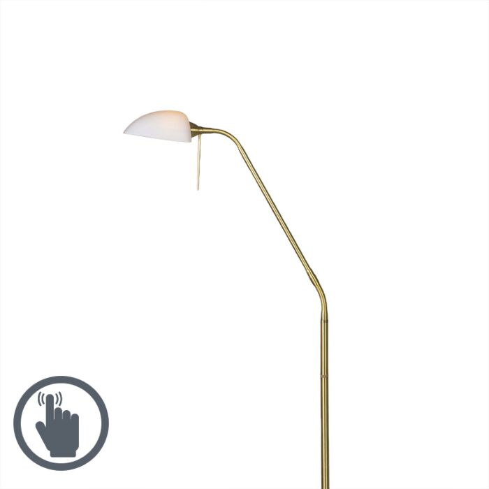 Floor-Lamp-Vince-Glass-Matte-Gold