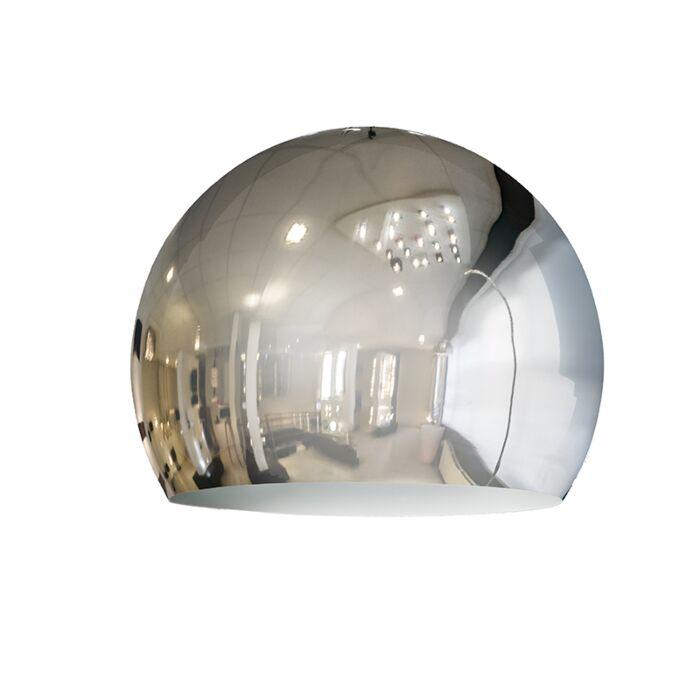 Shade-Globe-28cm-Chrome