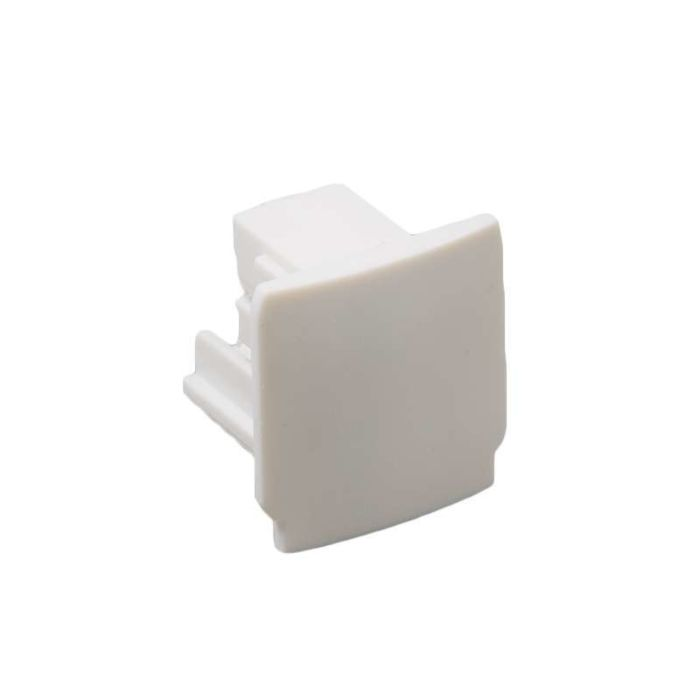 End-piece-for-3-phase-track-white