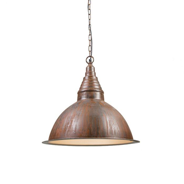 Industrial-hanging-lamp-rust---Factory