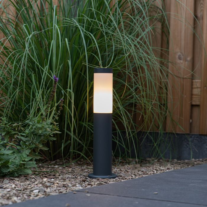 Outdoor-lamp-post-anthracite-45-cm-IP44---Rox