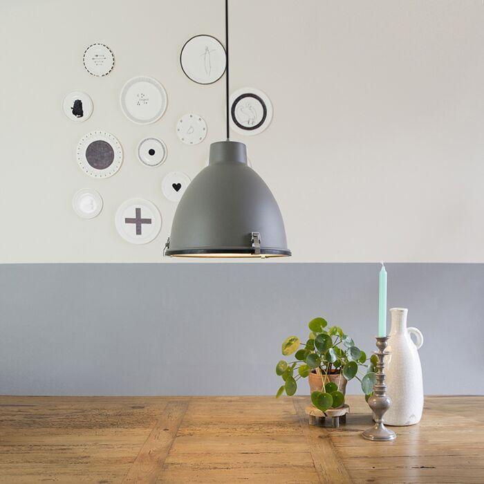 Industrial-Pendant-Lamp-38cm-Brown---Anteros