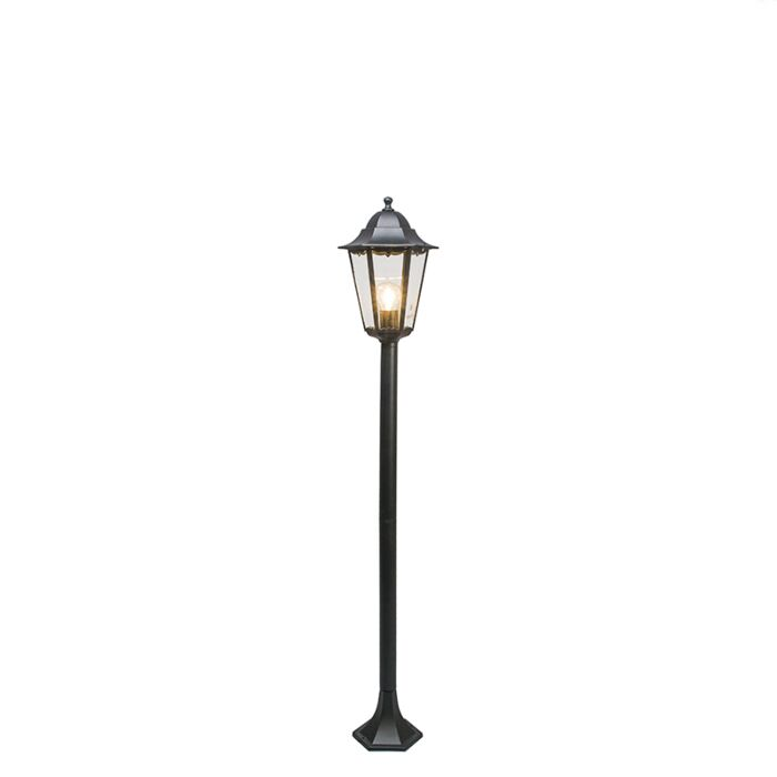 Classic-outdoor-lamp-black-127.5-cm-IP44---New-Orleans