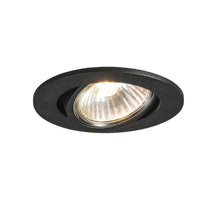 Recessed Spotlight Black Cisco Lampandlight