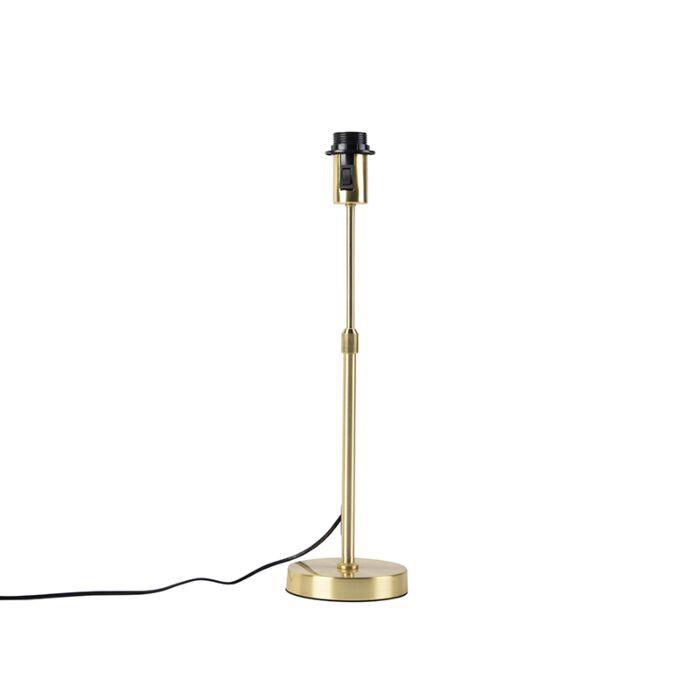 Table-lamp-Gold/Brass-without-Shade---Parte