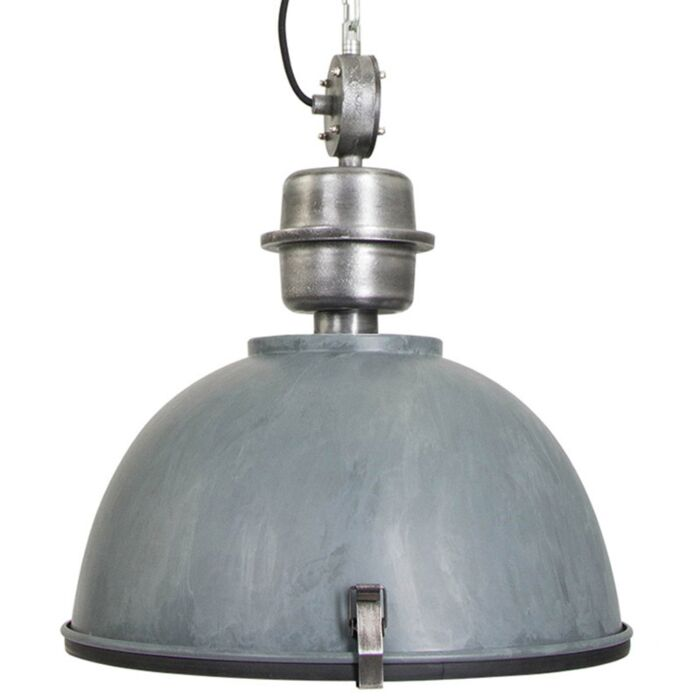 Industrial-hanging-lamp-concrete-gray-with-steel---Gospodin