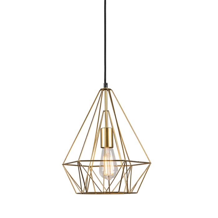 Industrial-hanging-lamp-gold---Carcass