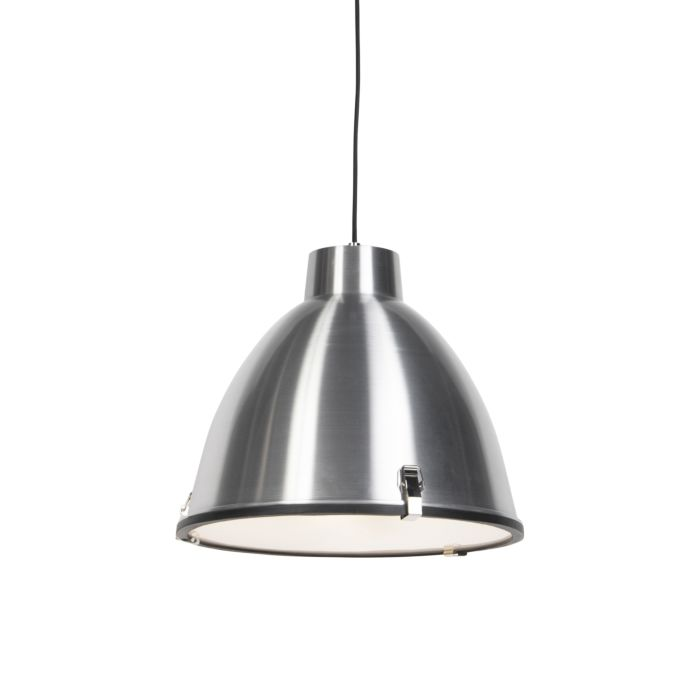 Set-of-2-hanging-lamps-aluminum-38-cm-dimmable---Anteros