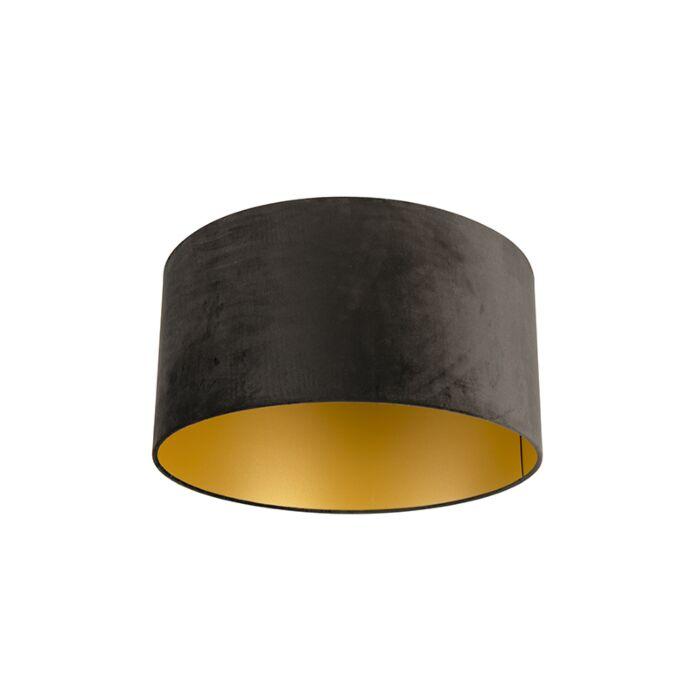 Velvet-Shade-Black-with-inner-Gold-50/50/25-