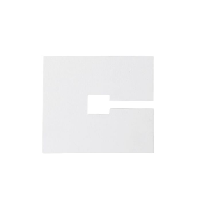 Square-cover-plate-10x10cm-white-RAL-9016