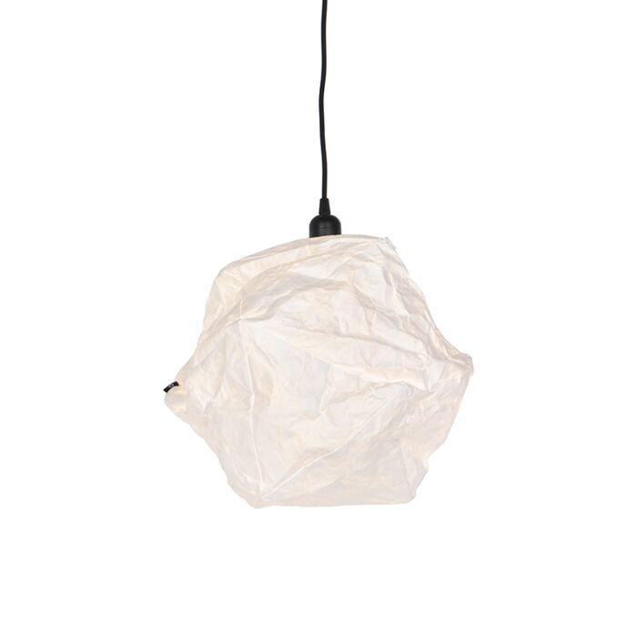 Scandinavian-paper-hanging-lamp-white---Pepa-Lua