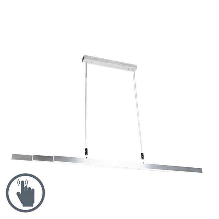 Modern-Pendant-Lamp-Aluminium-incl.-LED---Plazas-3-