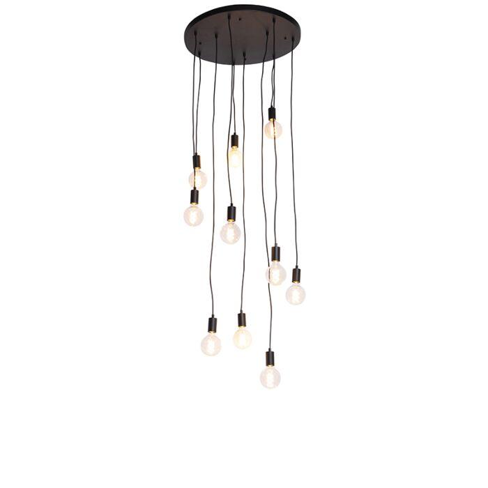 Modern-Pendant-Lamp-60cm-Black---Facil-10