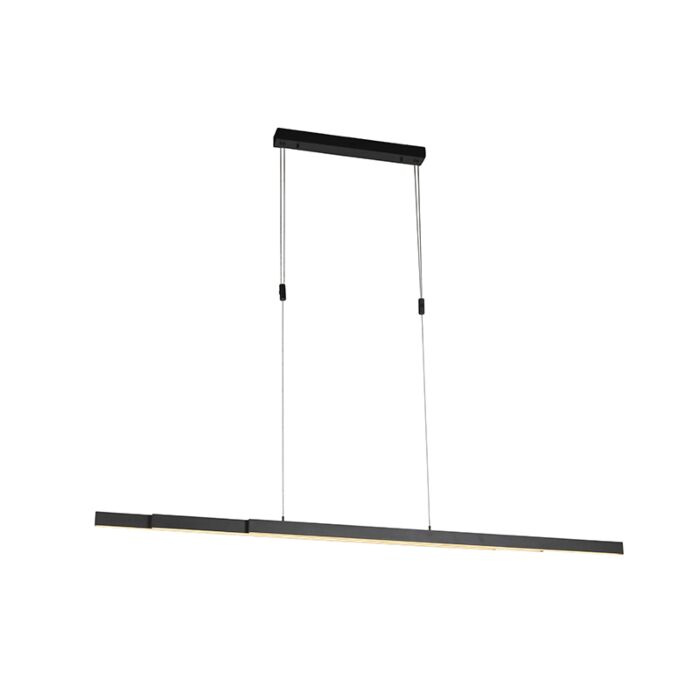 Hanging-lamp-anthracite-incl.-LED-and-dimmer-adjustable---Juliet