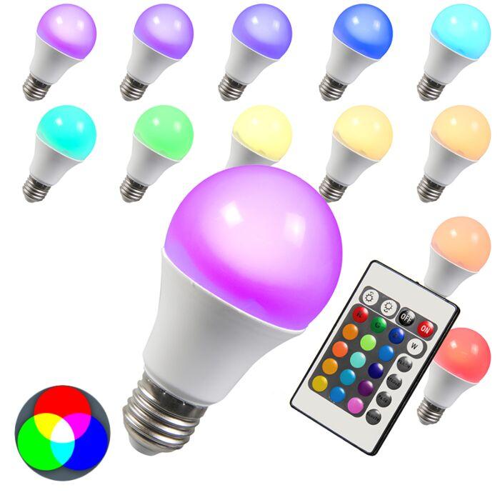 LED-Bulb-RGB-E27-3W