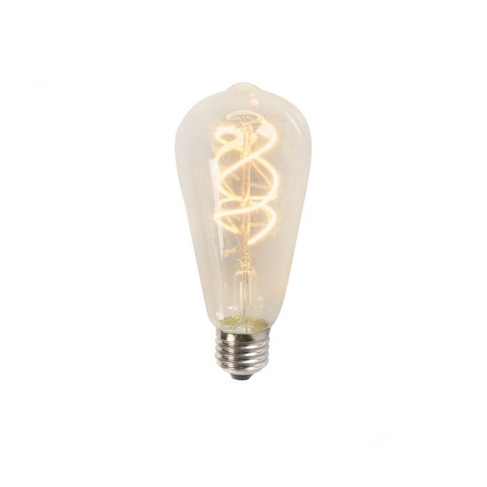 E27-LED-Spiral-Filament-ST64-5W-300LM-2200K