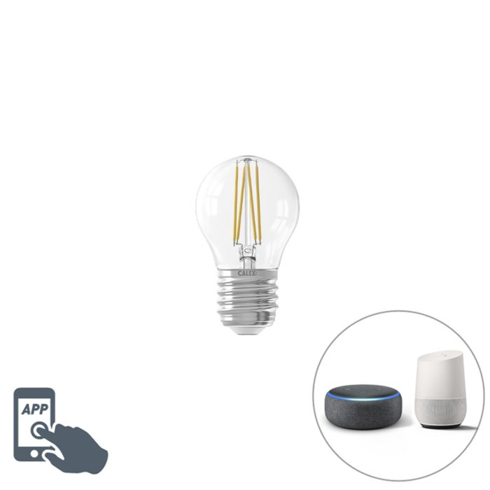 Calex-Smart-E27-LED-Clear-Filament-4.5W-450LM-1800K---3000K
