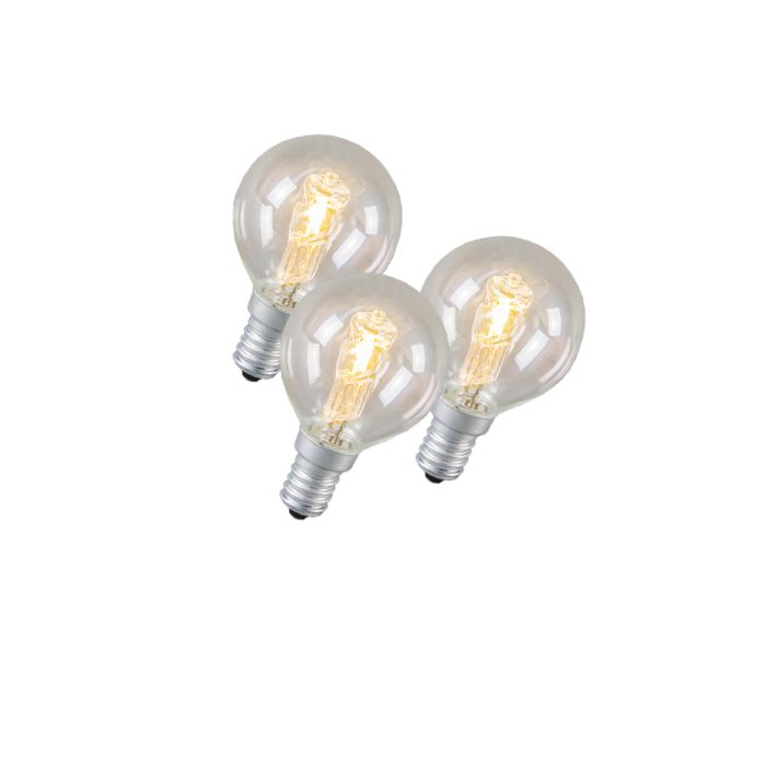 Set-of-3-E14-Halogen-42W-630LM