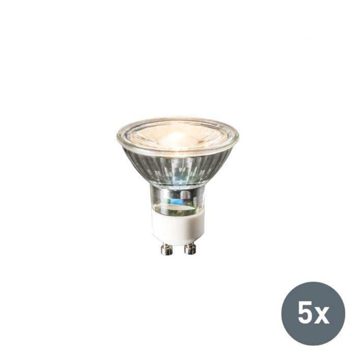 Set-of-5-GU10-LED-3W-230LM