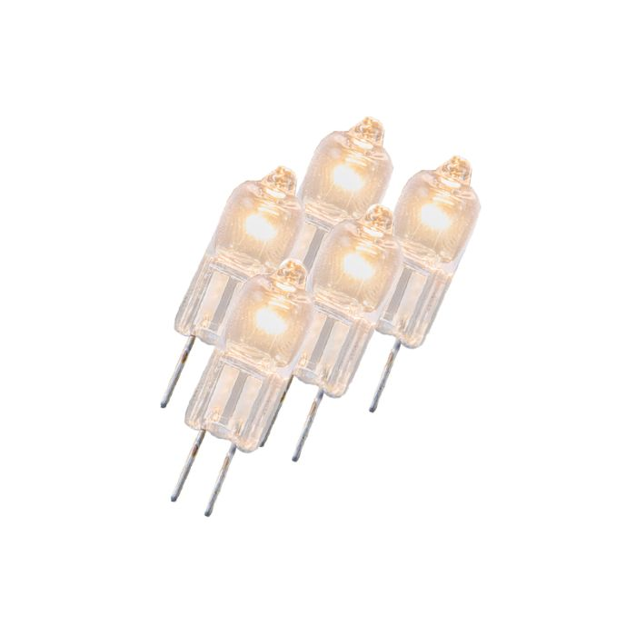 Set-of-5-G4-Halogen-5W-23LM