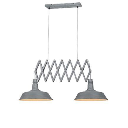 Industrial-hanging-lamp-steel-2-light-adjustable---Mancis