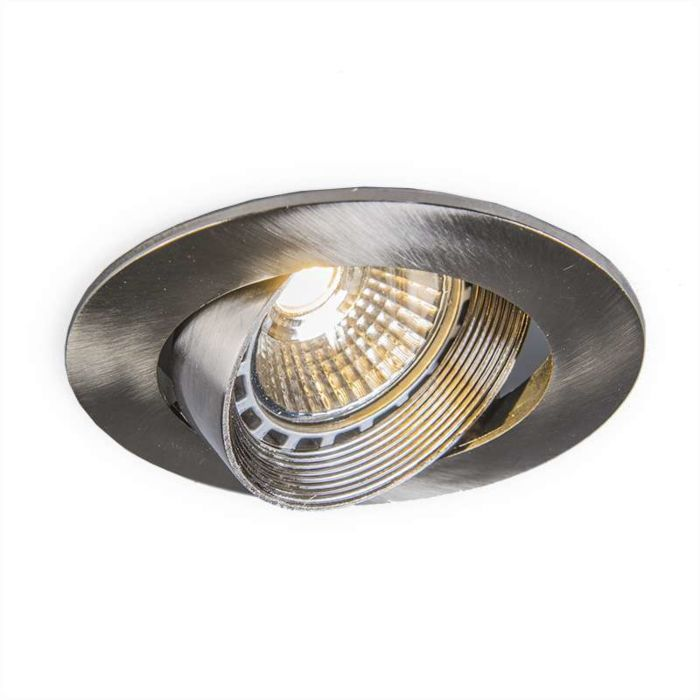 Recessed-Spotlight-LED-Easy-Steel