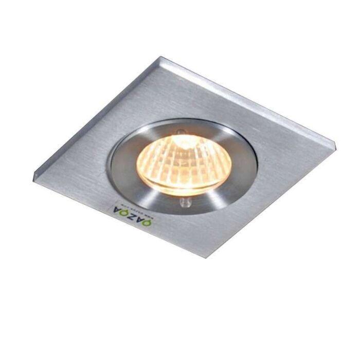 Recessed-Spotlight-Xena-Square-Aluminium