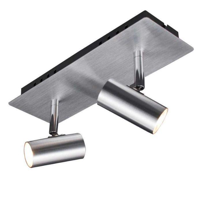 Spotlight-Oslo-2-Aluminium