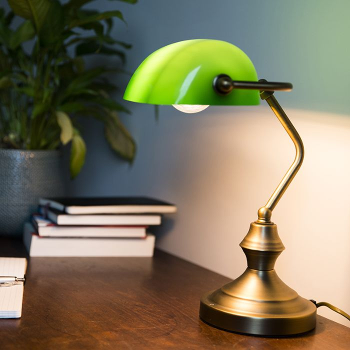 Bankers-Lamp-Bronze-with-Green-Shade