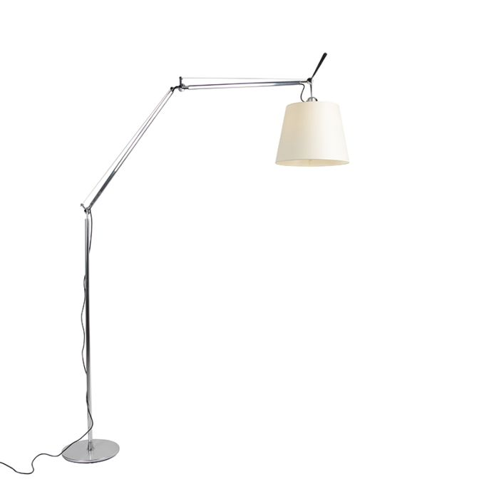 Artemide-Floor-Lamp-with-Parchment-Shade---Tolomeo-Mega-Terra