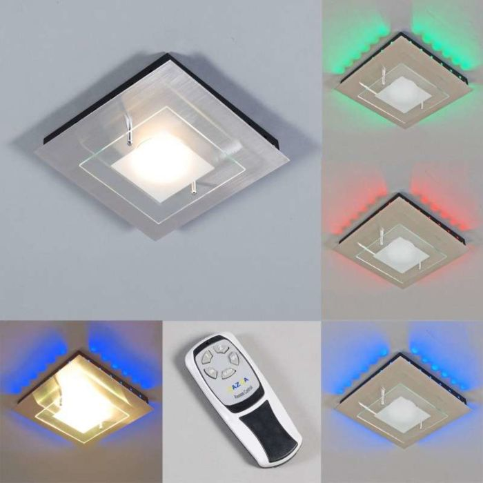Ceiling-lamp-Plate-GX-RGB-LED-steel