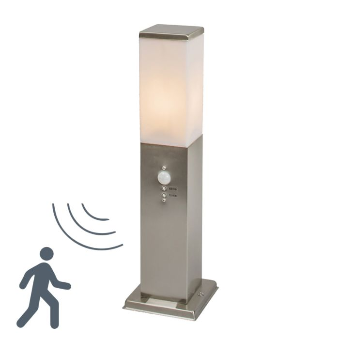 Outdoor-Pole-Malios-45-Steel-with-Motion-Sensor