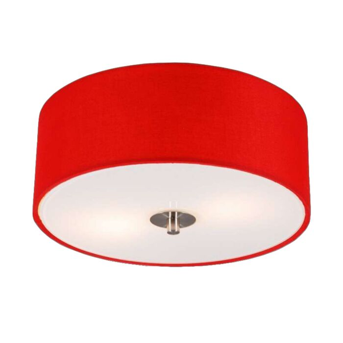 Modern-ceiling-lamp-red-30-cm---Drum