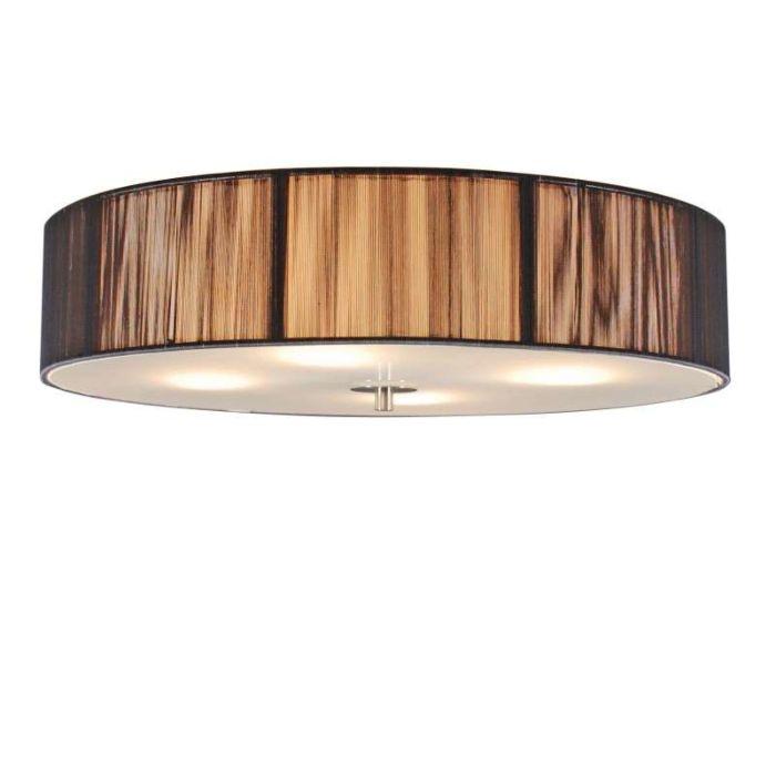 Ceiling-Lamp-Drum-Rope-Round-50-Dark-Grey