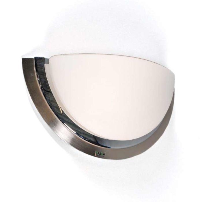 Wall-lamp-Barney-steel/chrome