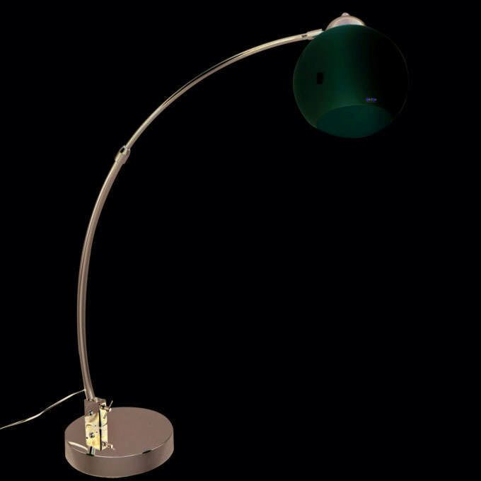 Arc-lamp-small-chrome-white