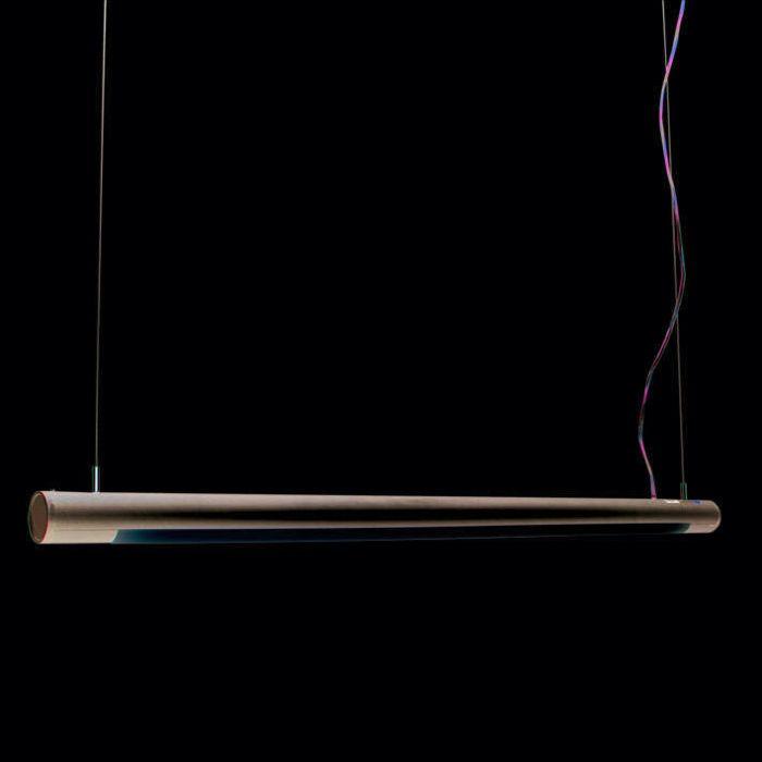 Hanging-lamp-Tube-O-silver-28W