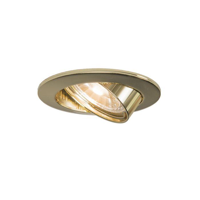 Round-Recessed-Spotlight-Tilting-Gold---Edu