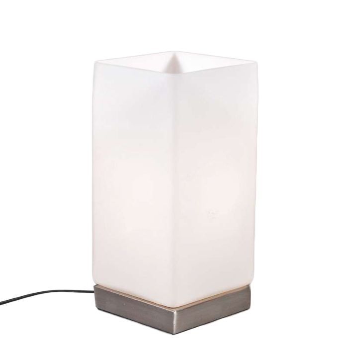 Table-Lamp-Accu-Steel-and-White-Glass