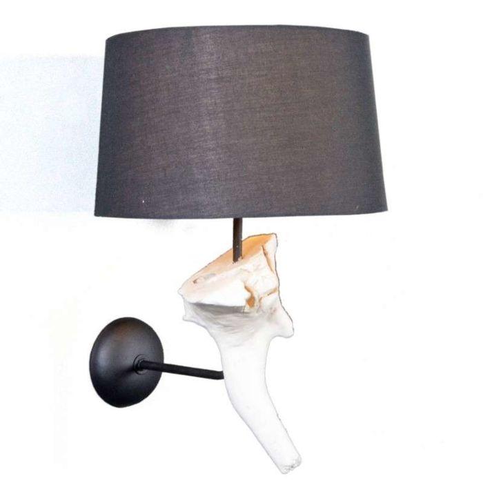 Wall-Lamp-Suchin-White---Black-Shade