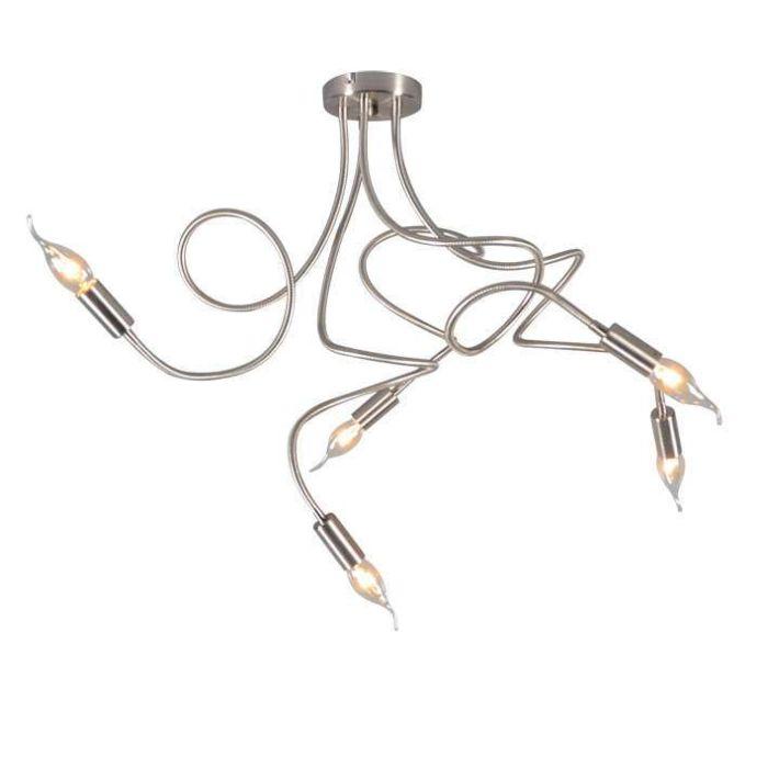 Ceiling-Lamp-Braccia-5-Steel