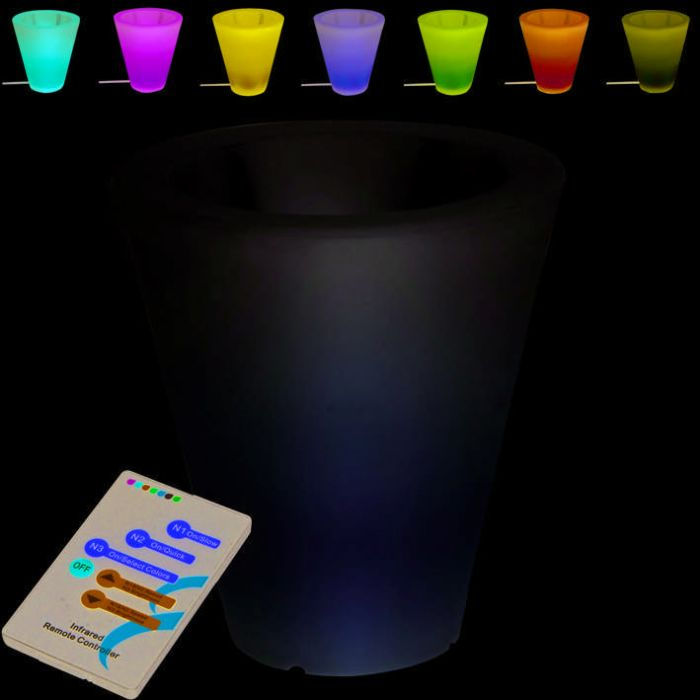 Illuminated-Flowerpot-Flower-40cm-LED