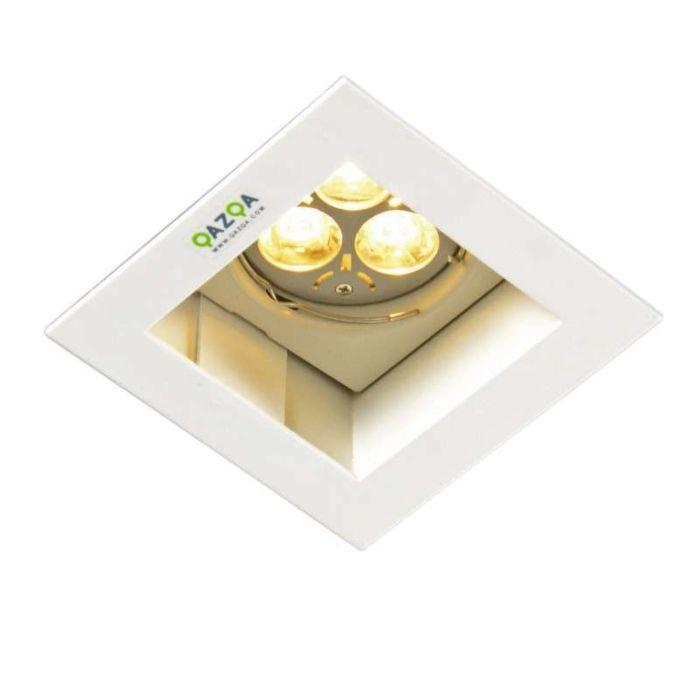 Built-in-Spotlight-Diego-II-Square-White