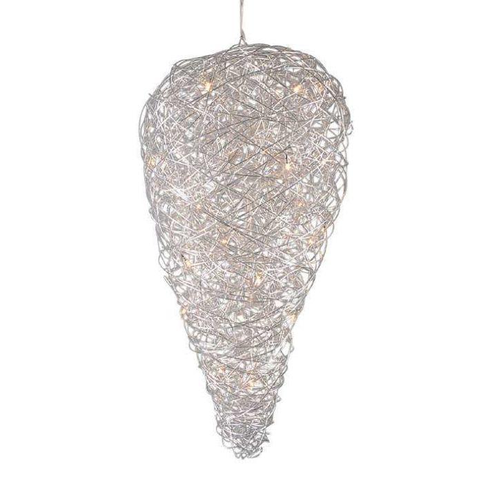 Hanging Lamp Draht Drip Aluminium