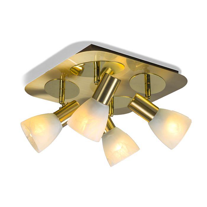 Spotlight-Oro-4-Square-Matte-Gold