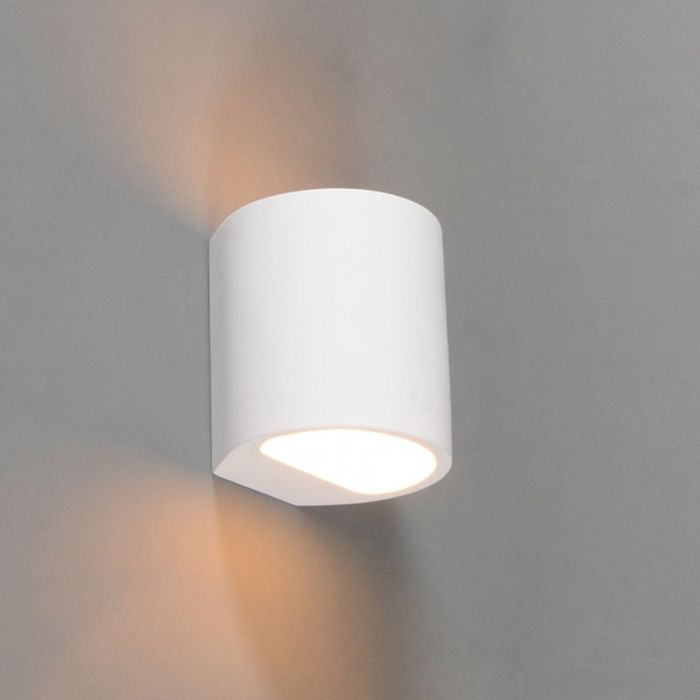 Modern-wall-lamp-white-round---Gipsy-Arles