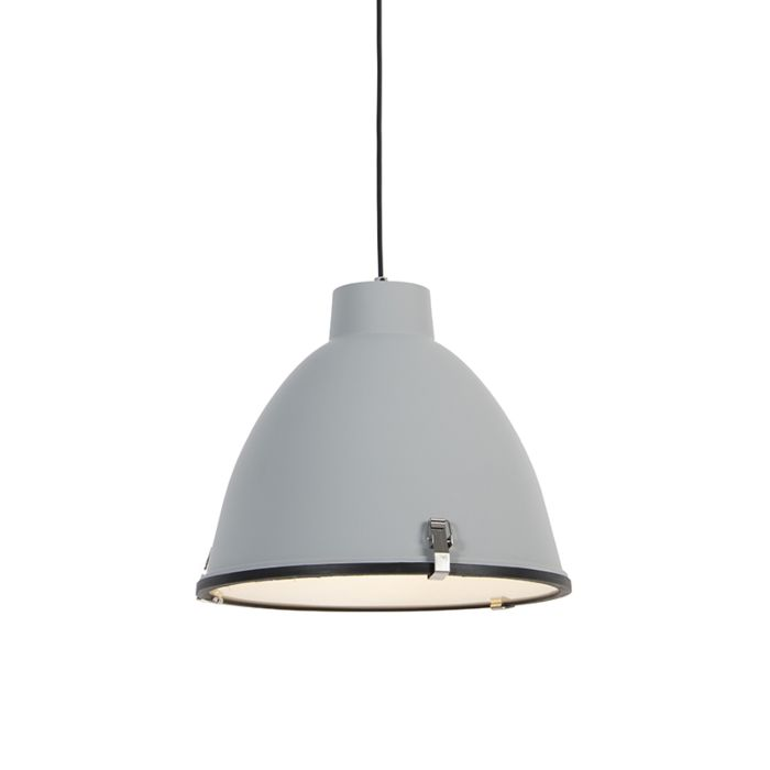Industrial-hanging-lamp-gray-38-cm-dimmable---Anteros