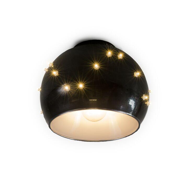 Universe-ceiling-lamp-in-black-25cm