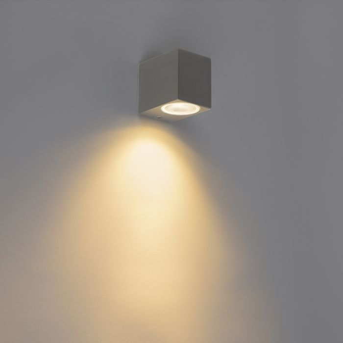 Modern Wall Lamp Anthracite Ip44