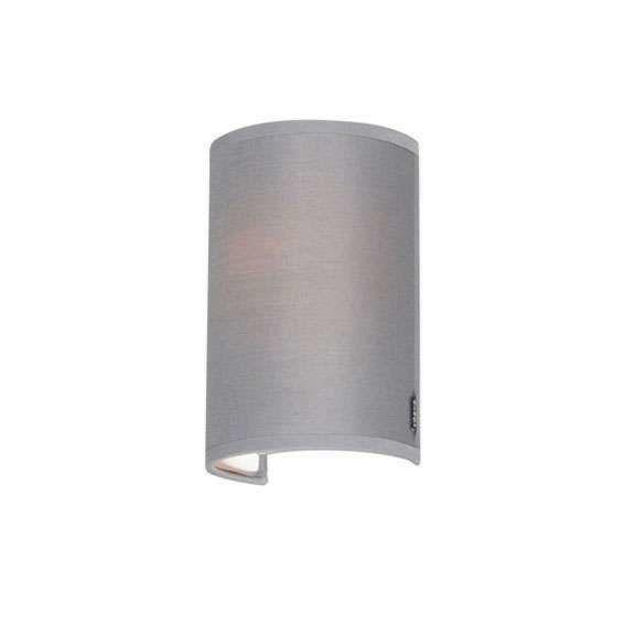 Modern-Wall-Lamp-Grey---Simple-Drum